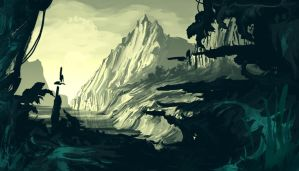Mountains by gkrit