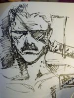 Solid Snake =w= by suzanna8767