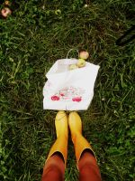 Rainy Day Apple Picking by Redlipstickandpearls