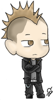 Johnny Christ chibi by ClearGuitar