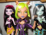 Monster High Dolls by BenTigre