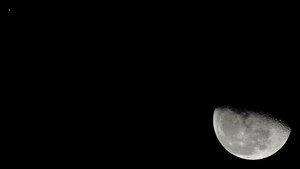Moon and Jupiter, January 1st, 2016 by L-Spiro