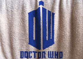 Doctor Who Logo Cloth by PlaviDemon