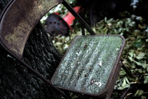 Mossy Chair by Pandaxninja