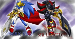Sonic And Shadow by AnchySonicFanGirl123