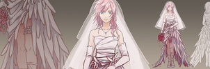 Bride Lightning by manreeree
