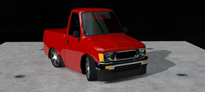 Chibi Toyota Pickup by ltla9000311