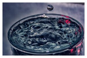 drop in glass II by demor