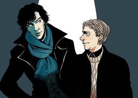 Sherlock: read my mind by Minuiko