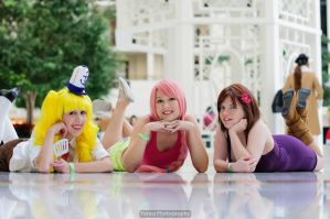 Spongebob Dream Girls by mikomiscostumedworld