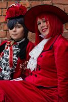 Ciel Phantomhive - Red family by SaaraZ
