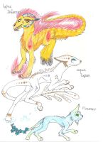 My breeds auction! -CLOSED- by Catdragons