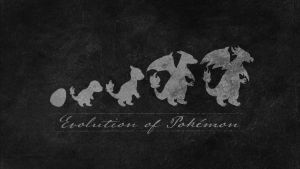 Evolution of pokemon dark by TheCuraga
