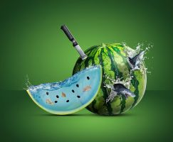 Full Water Watermelon by erkanozan