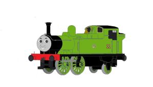 Oliver The GreatWestern Engine by noobersen