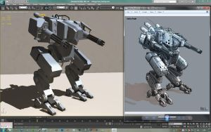 Gatling Power_wip by Skaiway