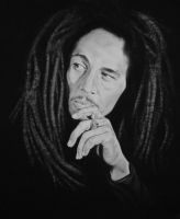Bob Marley by objectivereflective