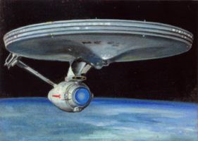 the enterprise card 181 by charles-hall
