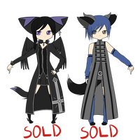 Humanoid Adoptables -CLOSED- by Kitsune-no-Suzu