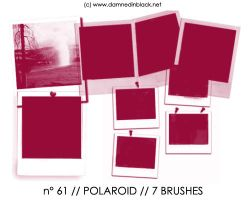 PHOTOSHOP BRUSHES : polaroid by darkmercy