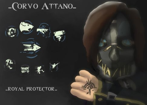 The marked by the void: Corvo Attano by Dragonkitten555