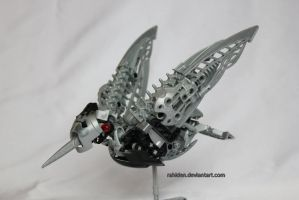 Bionicle MOC: Hummingbird by Rahiden