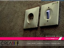 creatiff web site by ognyldz