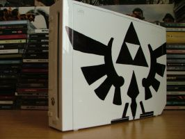 Nintendo Wii Triforce Custom by DavidWoods