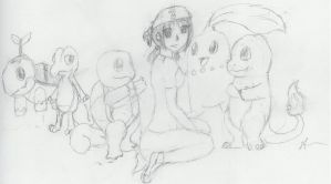 Me and My Starter by gir-is-me