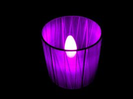purple lamp by TaliNatPhotography