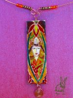 Lady from Byzante by Tuile-jewellery