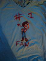 Woody T-shirt by spidyphan2