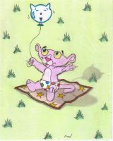 Baby  Pink  Panther by fredvegerano