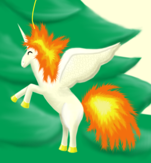 Winged Rapidash