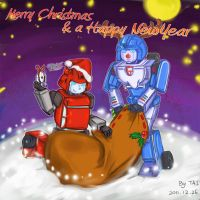 Merry Christmas and a Happy New Year by christsaga