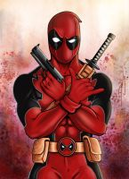 Deadpool by Dan by Zartdc