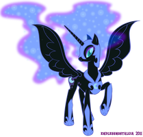 Commission - Nightmare Moon by endlessnostalgia