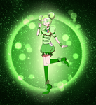 A Green Heart Is The Symbol of Friendship by Lady-Moth