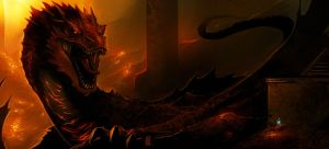 Smaug by TheRisingSoul