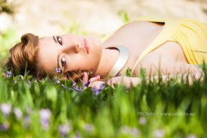 Spring Girl by PROfotoEU