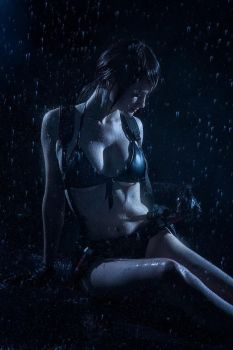 Metal Gear Solid V: The Phantom Pain - Rain Quiet by tniwe