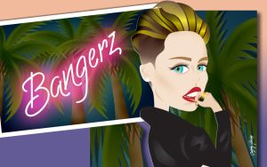 Miley Cyrus - Bangerz (cartoon) by Ludingirra