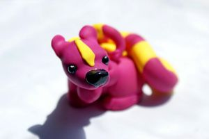 Ardith - polymer clay creature by crystalcookart