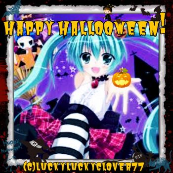 Happy Halloween special 1 by luckyluckyclover77