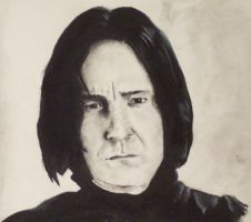 So Far Down - Snape by snowyheart