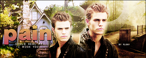 Paul Wesley signature by florentinaRBD