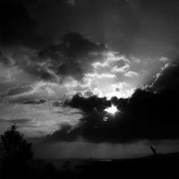 BREAKING THROUGH THE CLOUDS by puken