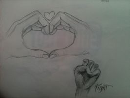 hands heart by 12KathyLees12