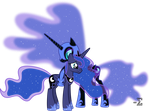 Nightmare Moon Comforts Princess Luna (1) by 90Sigma