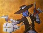 Cad Bane and Todo 360 by TerribleToadQueen